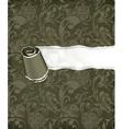 Torn paper Wallpaper background vector image vector image