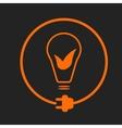 Eco-friendly energy icon vector image