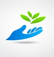 Environmental logo vector image