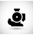 Sewage pump icon vector image
