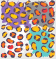 Wild Animal Pattern vector image vector image