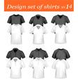 design shirt set 14 vector image