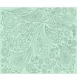 Black mint indian pattern Arabic ornament vector image