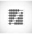 Abacus Sign Symbol Icon vector image vector image