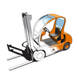 Forklift vector image vector image