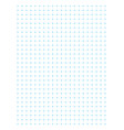 blue full page centimeter dot paper vector image