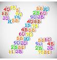 Colorful sale discounts set vector image