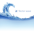 Cool water wave vector image