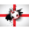 Grunge football soccer background vector image