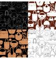 bag seaml 380 vector image vector image