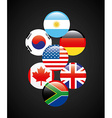 flags of countries vector image