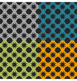 Bright pattern number 2 vector image vector image