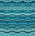 wave zigzag seamless pattern vector image
