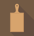Wooden Chopping Board vector image
