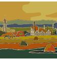 European landscape vector image