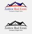 Property Real Estate Logo vector image
