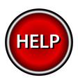 Help icon vector image