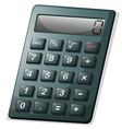 A calculator vector image vector image