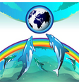 eco earth clean water vector image
