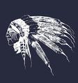 Native american design elements vector image