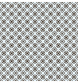 vector repeating ornate clover pattern vector image vector image