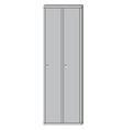 School sport locker vector image