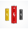 Battery Set vector image