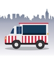 Truck design Transportation icon Isolated vector image