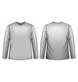 White shirt vector image