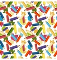 Back to School Seamless School Background vector image