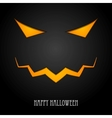 Halloween monster mask design vector image