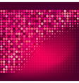 abstract red dots background vector image vector image