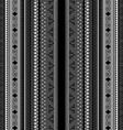 Maori background vector image