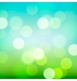 Bright colorful blurred natural background vector image