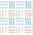 cute hand drawn bricks seamless pattern vector image