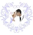 Wedding couple 07 vector image