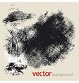 Grunge elements set 1 vector image vector image