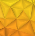 Abstract geometrical yellow background vector image vector image