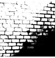 grunge textures set vector image