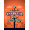 Retro Neon Sign Vintage Signboard with vector image