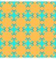 Flowers geometric seamless pattern 2203 vector image