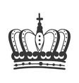 roayl crown king vector image