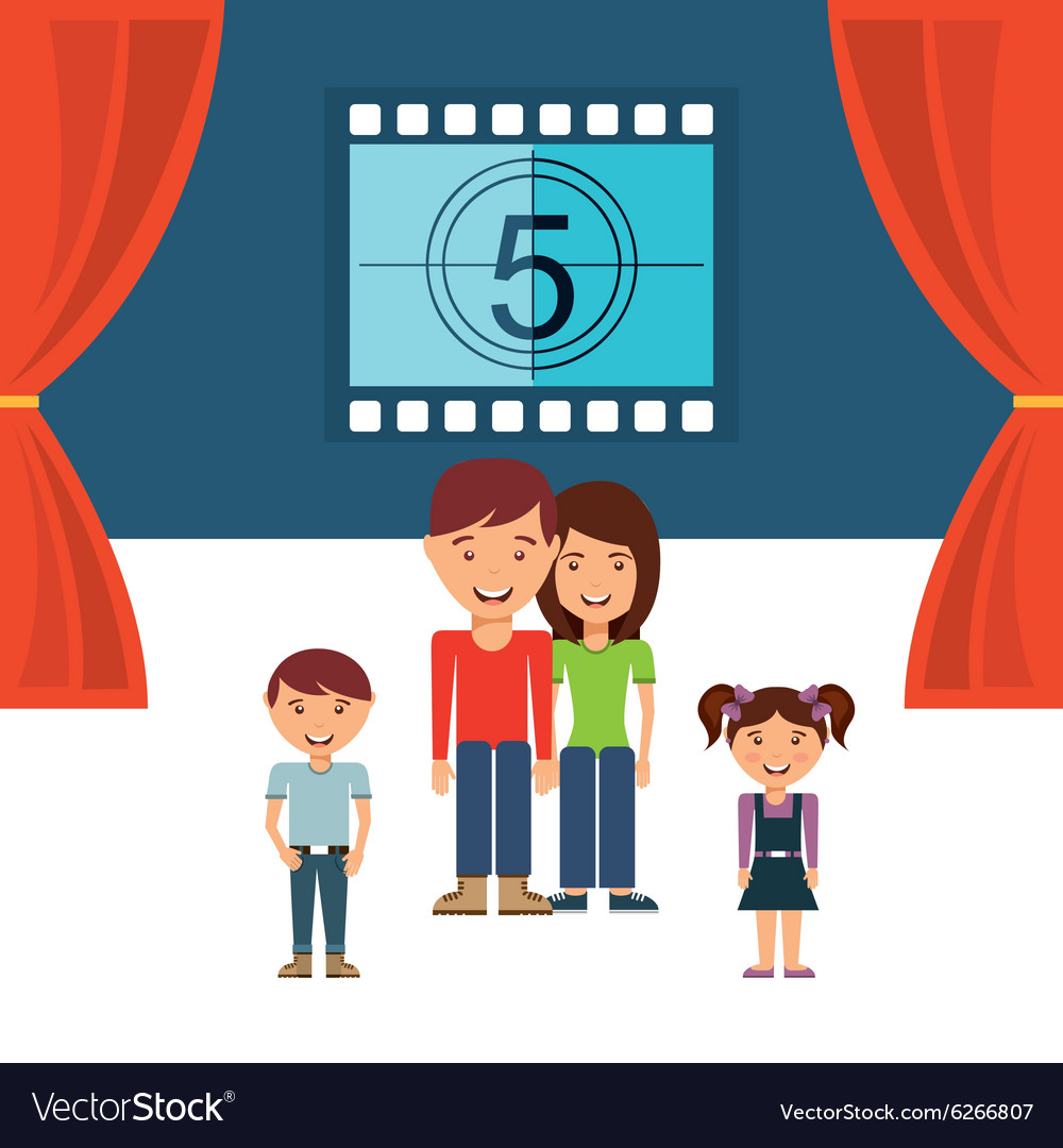 Cinematographic hobby design vector