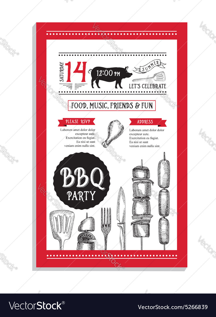 Restaurant cafe menu template design food flyer vector