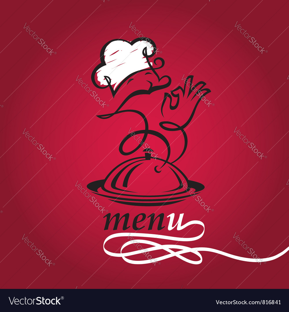 Dish and cook vector