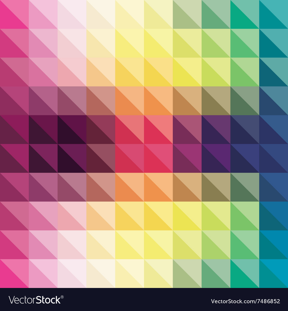 Abstract triangle pattern in background design vector