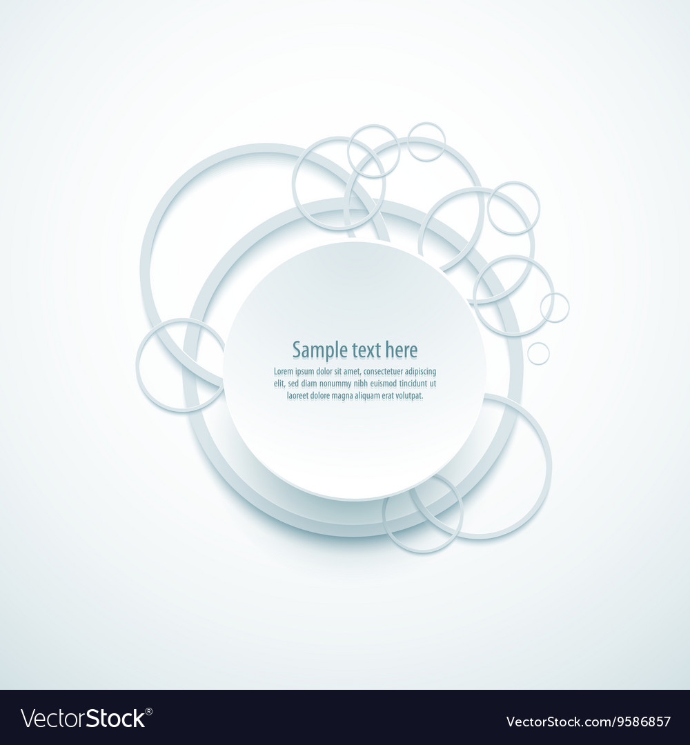 System circle color loop business vector