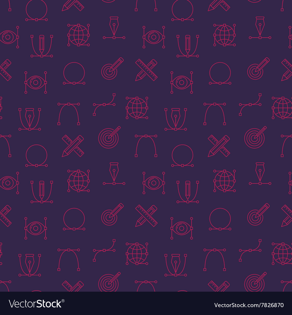 Graphic design seamless pattern vector