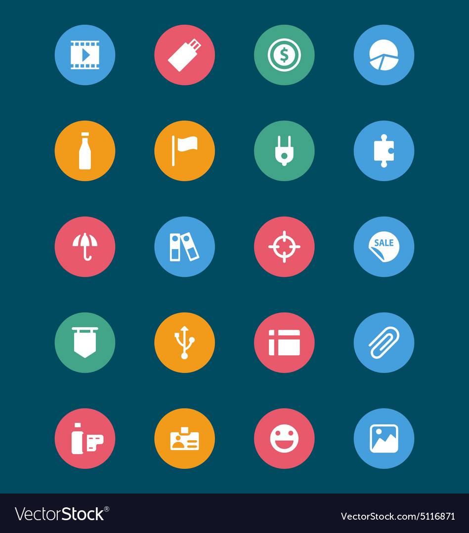 Web and mobile icons 6 vector