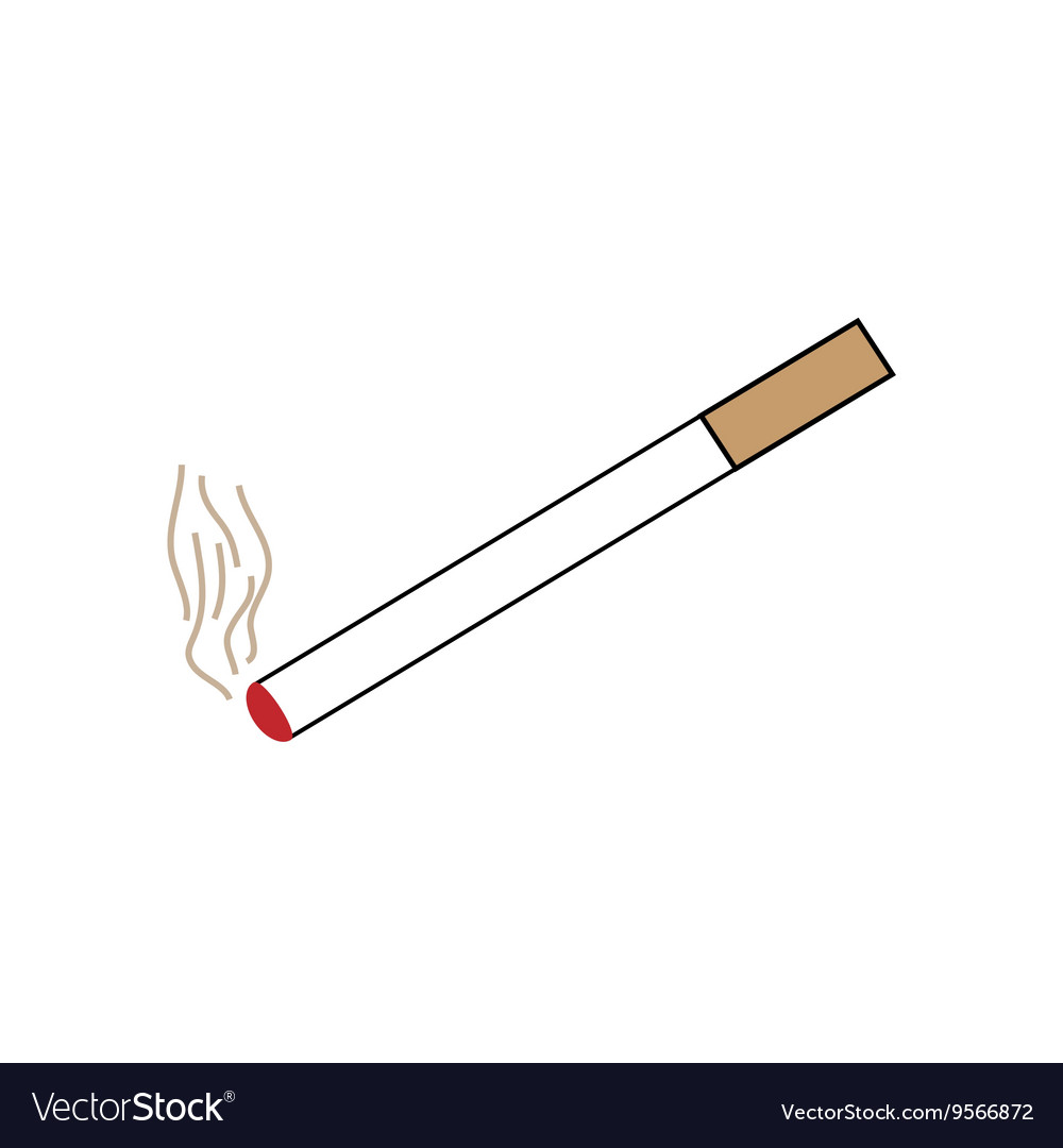 Smoke design element vector